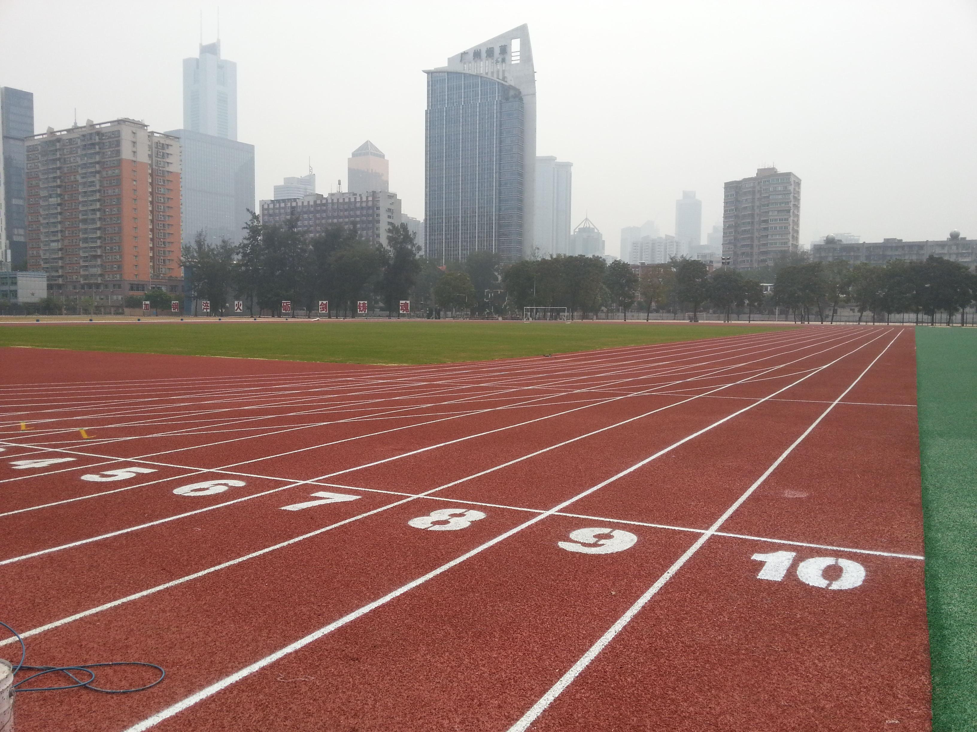 中国人民解放军特种作战学院运动场16000㎡