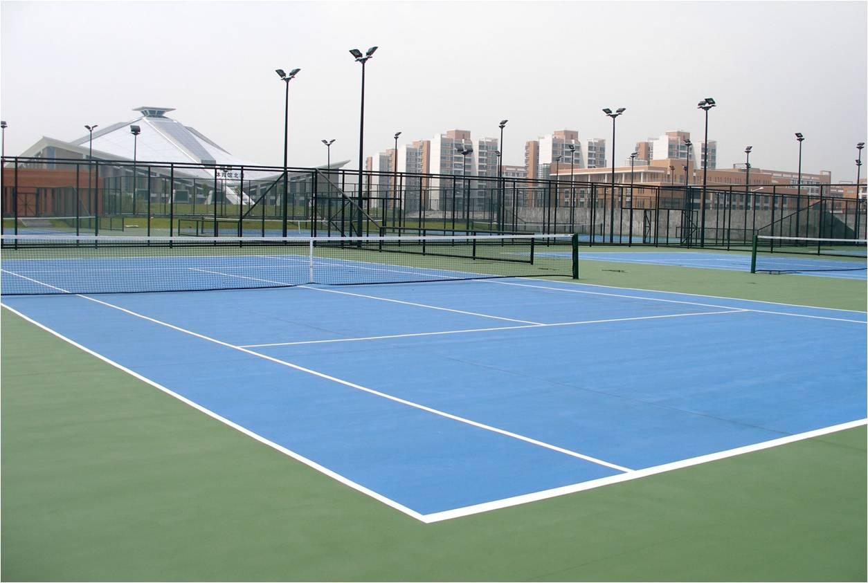 雅居乐网球场3000㎡
