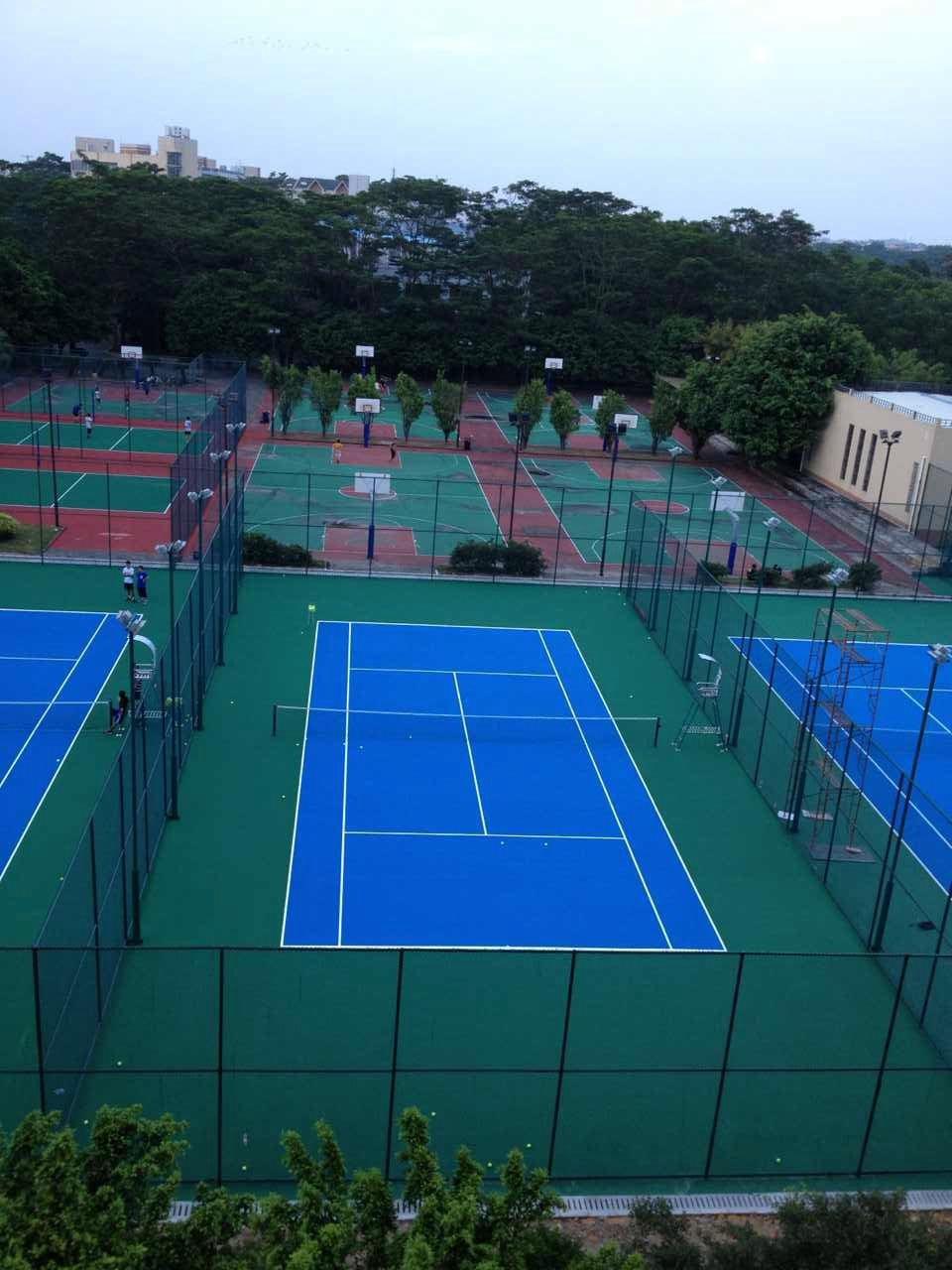 北大珠海校区网球场