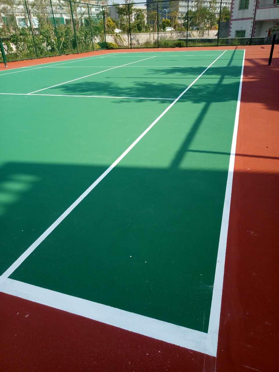 广州曼谷小区网球场